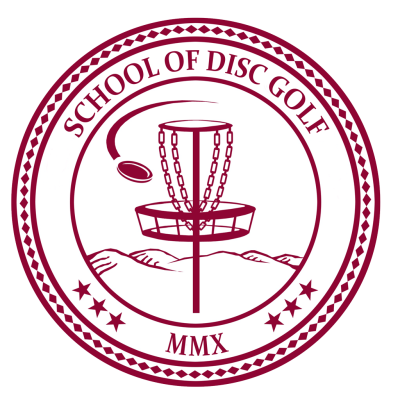 School of Disc Golf logo