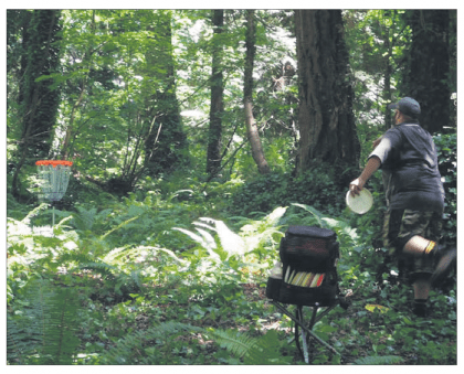 disc golf lessons, disc golf teambuilding events, disc golf stories