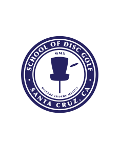 School of Disc Golf logo